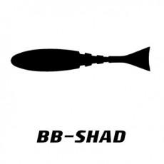 비비커스텀 광어다운샷 전용 쉐드웜 비비쉐드 5인치